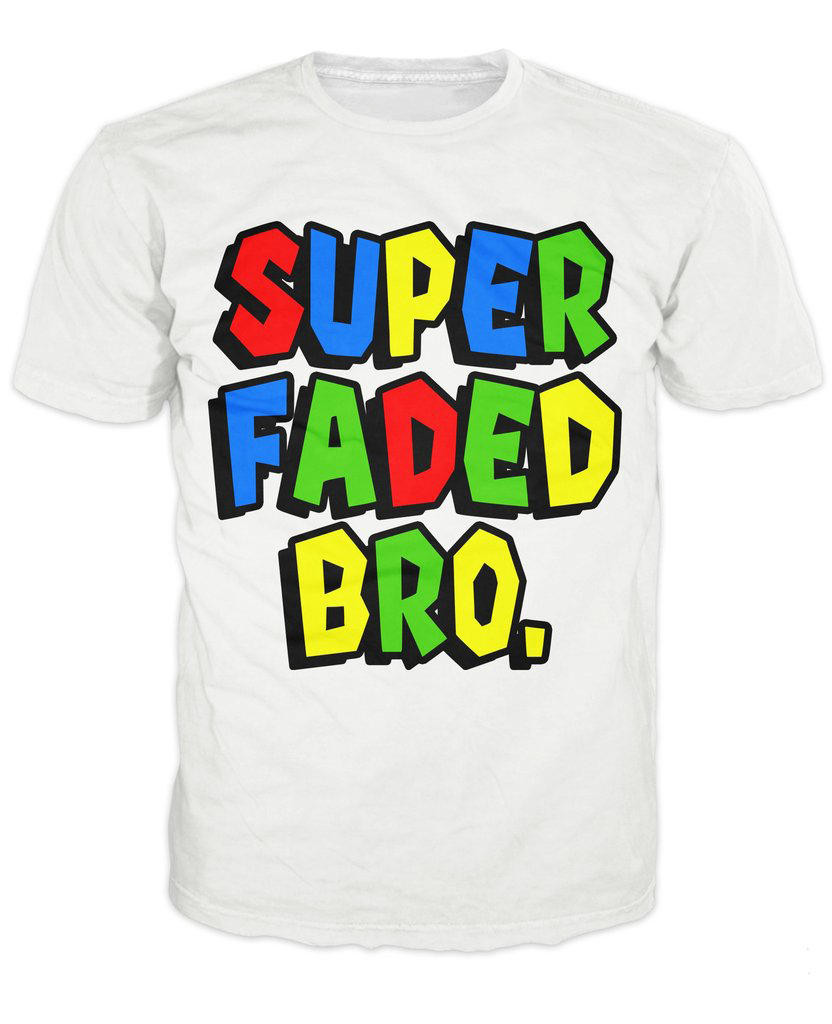 0fa3b4eb3 women men Super Faded Bro T-Shirt 3d colorful letter print t shirt funny  design summer tops tee casual t-shirt