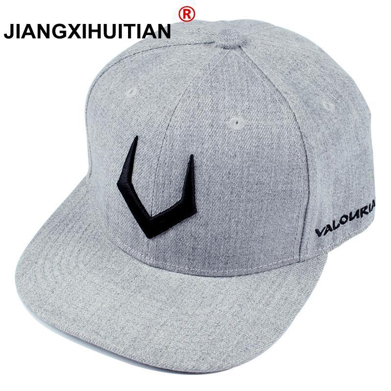 large size High quality grey wool snapback 3D pierced embroidery hip hop   cap   flat bill   baseball     cap   for men and women 56-58-62cm
