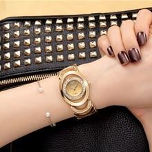 Crrju de lujo reloj de las mujeres famosas marcas de diseño de moda de oro pulsera relojes señoras de las mujeres relojes de pulsera relogio femininos