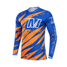 Homem Roupas de Ciclismo Bicicleta Jerseys Downhill Equitação Motocross Off Road Motorcycle Racing Team Sports wear Ropa ciclismo(China)