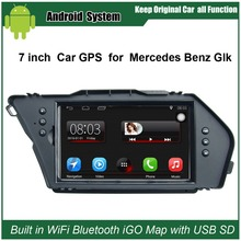 Upgraded Original Car Radio Player Suit to Mercedes Benz Glk Car Video Player Built in WiFi