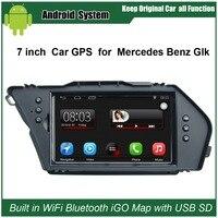 Car DVD GPS For Mercedes Benz Car GPS For Mercedes Benz GLK With Car DVR A2DP