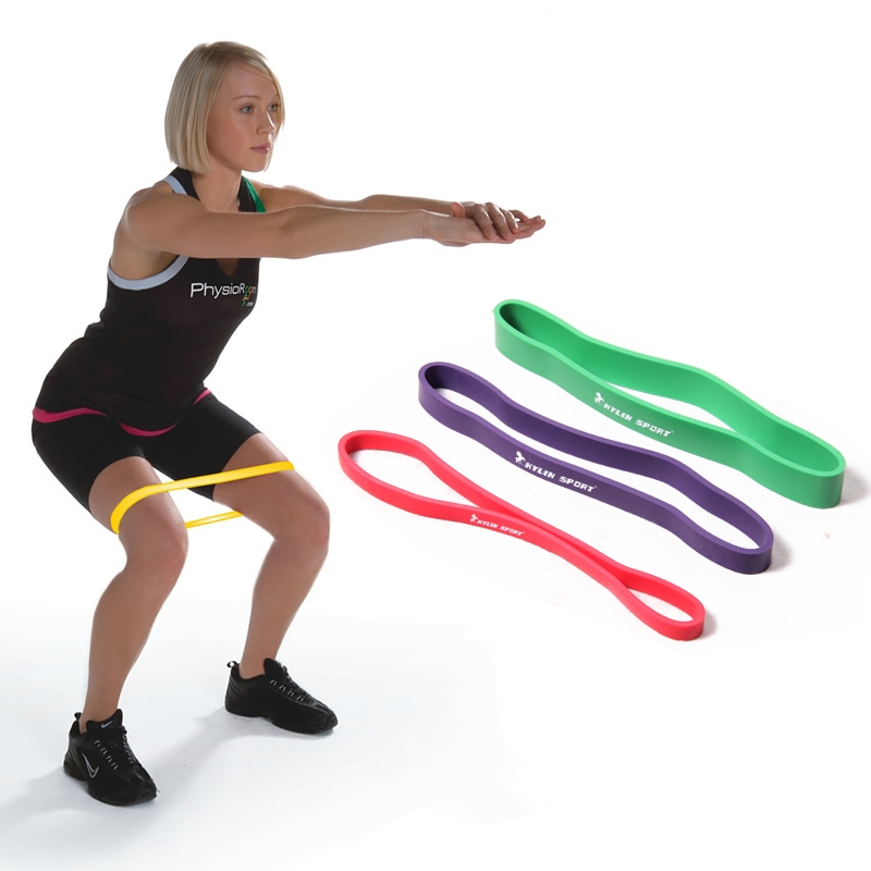 Levels Available Pull Up Assist Bands Yoga Pilates Exercise Body Fitness Resistance Loop Band FREE SHIPPING
