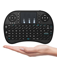 I8 Mini Keyboard Wireless 2.4G with Touchpad Air Mouse Remote Control Keyboard For Android TV Box Porjector
