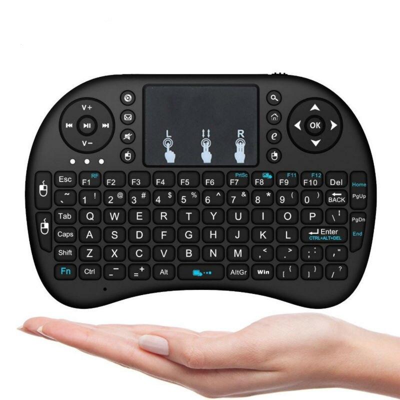 Mini Teclado Sin Hilos I8 2.4G con el Touchpad Fly Ratón Remoto Control de Tecla