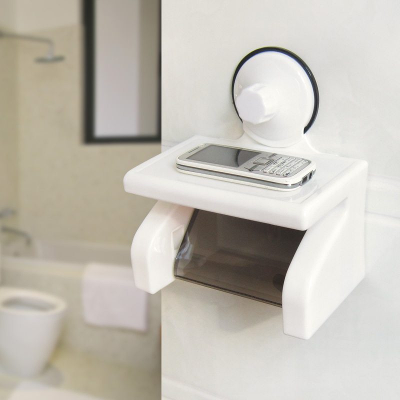 Shuangqing Waterproof Roll Paper Holder Strong Suction Cup Box Toilet Towel In Holders From Home