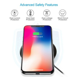 Image 3 - CHOETECH Wireless Charger 10W For Samsung Galaxy S9 S8 S7 Edge Qi USB Wireless Charging Pad 7.5W For iPhone X 8 XS Max