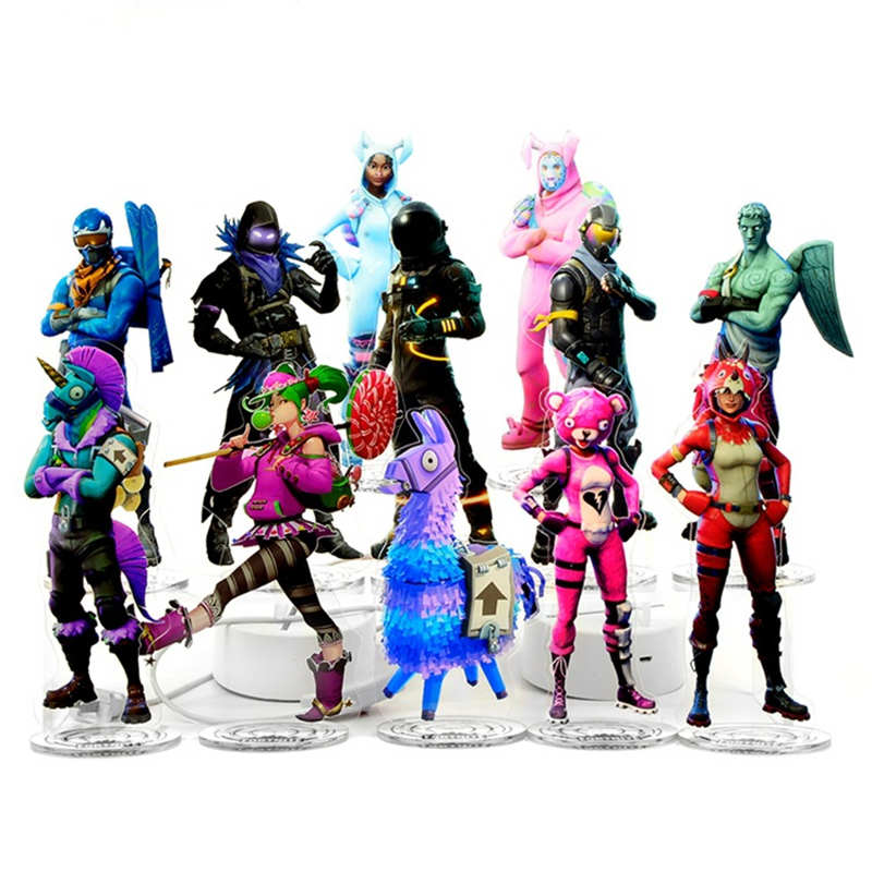 30 Styles Fortnight Battle Royale Action Figure Toy Llama Anime Figure Model Toys for Kid Gift Acrylic Infant FPS Cosplay 2130 Styles Fortnight Battle Royale Action Figure Toy Llama Anime Figure Model Toys for Kid Gift Acrylic Infant FPS Cosplay 21