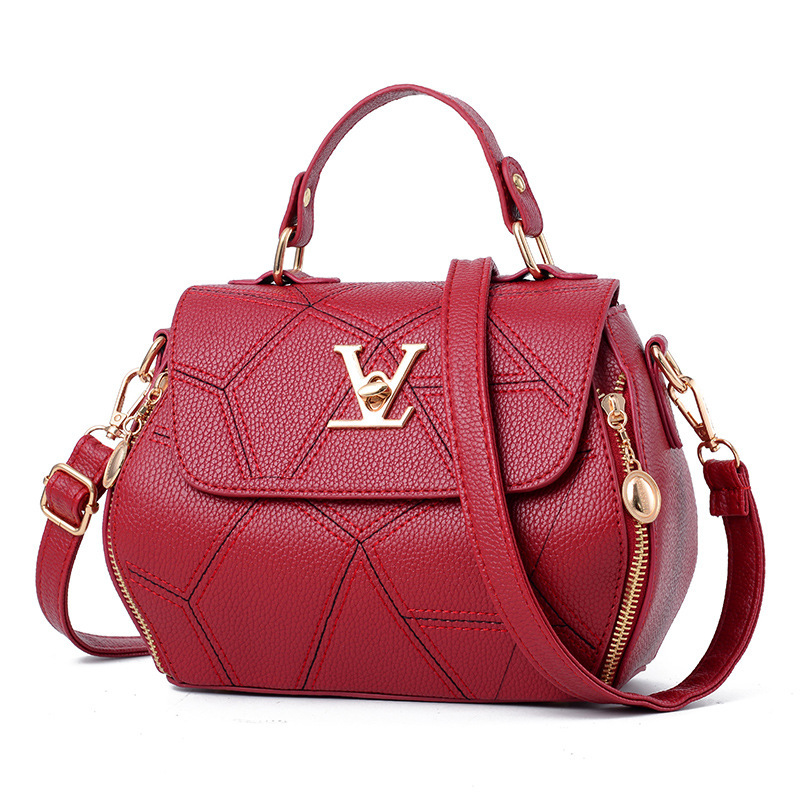 2018 Femme Bolsas Women'sTote Handtasche Marke Frauen Tasche Luxus Leathe Handtaschen Shell faden Damen Kupplung Designer Tasche Sac Ein Haupt