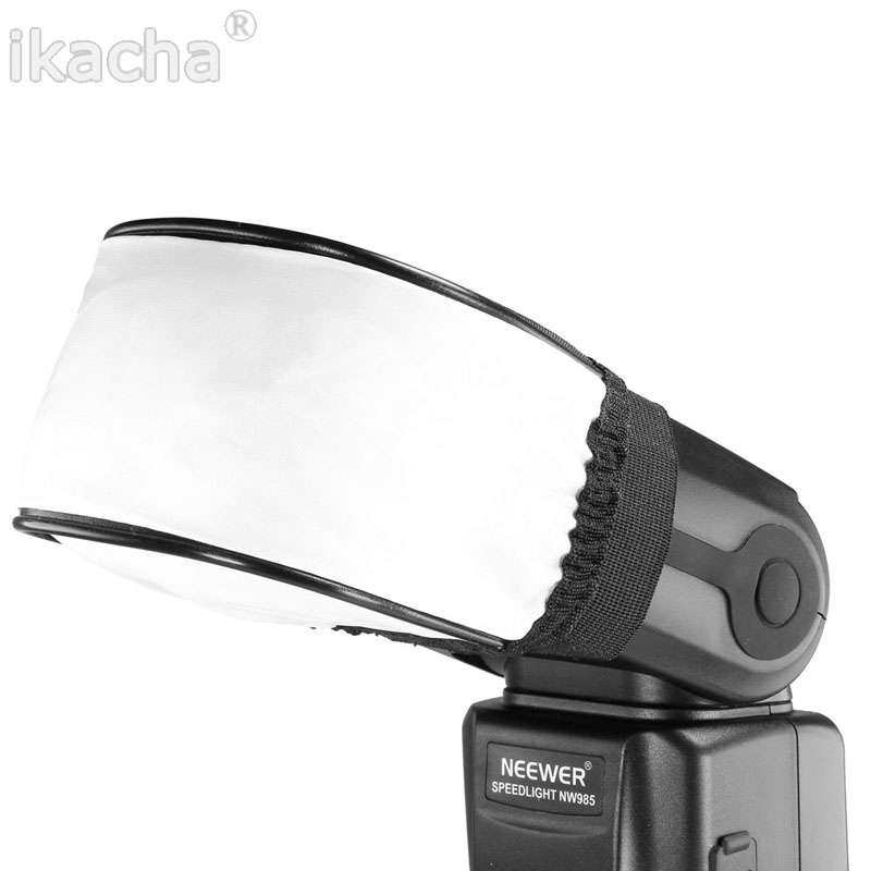Բարձրորակ ունիվերսալ նեյլոնե հագուստի փափուկ Flash ցատկող փափկեցուցիչ փափուկ տուփ Canon Nikon Sony Pentax Olympus Contax- ի անվճար առաքում