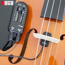 KQ-2 Пикап для скрипки Высокая чувствительность для всех видов аксессуаров для скрипки