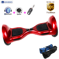 Hot Cool 10 Inch Self Balancing Electric Scooter Smart 2 Wheels Electric Hoverboard No Tax Ups