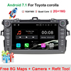 8 Android 7 11 OS CAR DVD Player For Toyota Corolla 2006 2011 GPS Nav Radio