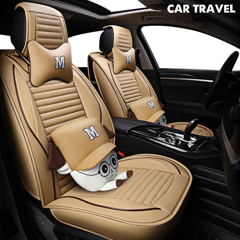 pu Leather car seat cover For volvo v40 v60 v70 mercedes w212 w213 chevrolet sonic bmw x3 e83 lada auto accessories car-styling цена
