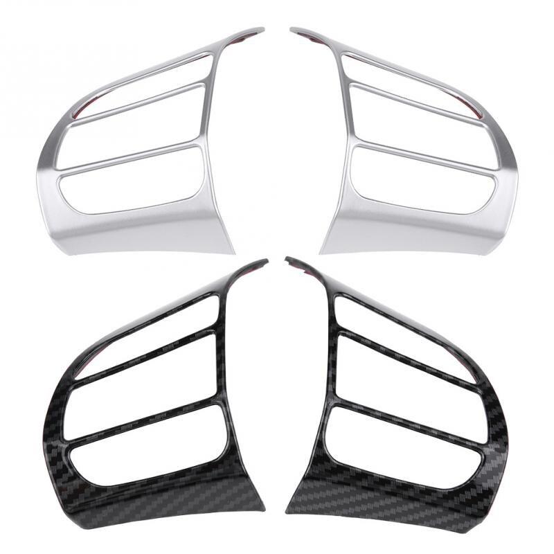 2pcs font b Car b font Steering Wheel Cover Frame Trim Insert Sticker for Hyundai Encino