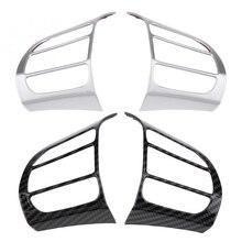 2 шт. рулевого колеса автомобиля рамка Trim Insert Стикеры для hyundai Энсино Кауаи Кона 2017 2018 2019 2020 внедорожник Новое поступление