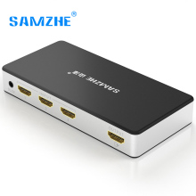 SAMZHE 4 К * 2 К HDMI Splitter Switcher 3 Порты и разъёмы Вход 1 выход HDMI адаптер для компьютера проектор Xbox Gamebox к ТВ большой Экран