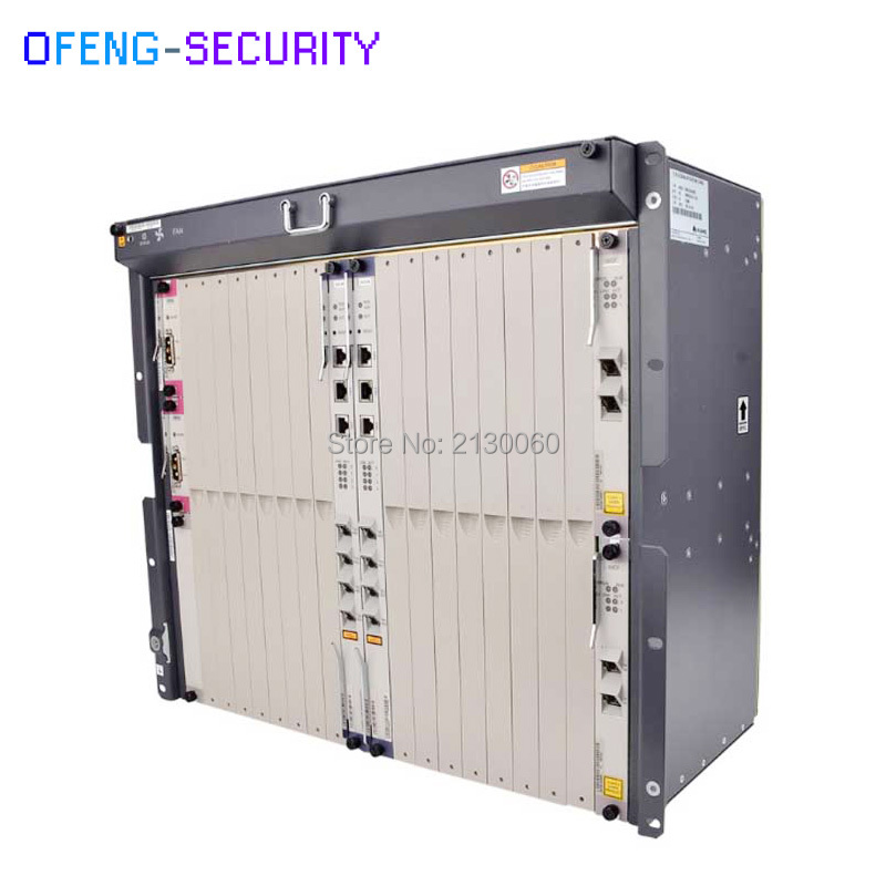 Huawei OLT MA5680T Gpon Olt,epon Olt, SmartAX MA5680T OLT Fiber Optic Equipment With Chassis+Fan+2*SCUN+2*PRTE+GICF; Accessories