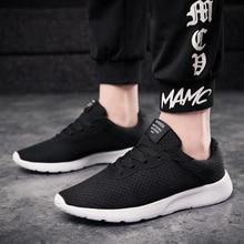 Men Shoes Casual Luxury Brand Lightweight Mesh Walking Sneakers Men Trainers Bre