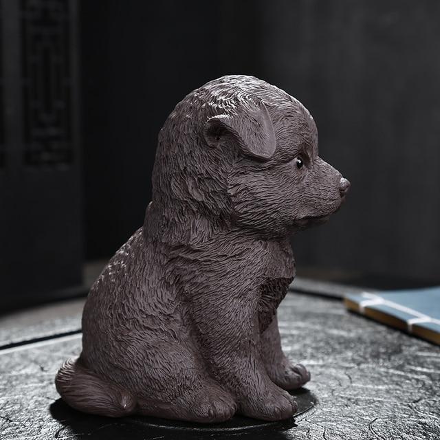 Фото креативный фиолетовый ldyllic щенок фотоорнамент спальня гостиная