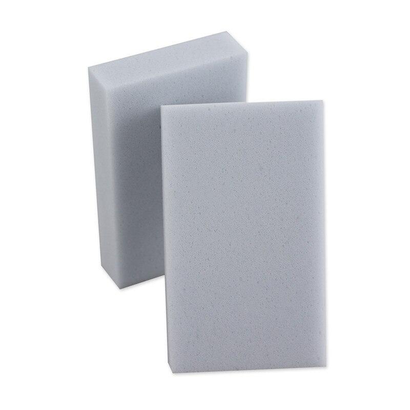 100 stks / partij grijs Magic Spons Gum Melamine Cleaner, - Huishouden