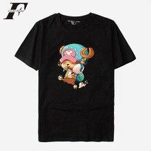 LUCKYFRIDAYF 2018 One Piece T-shirts Men/WOMEN cotton funny T Shirts Tshirt Harajuku Style Anime Black camisetas hombre