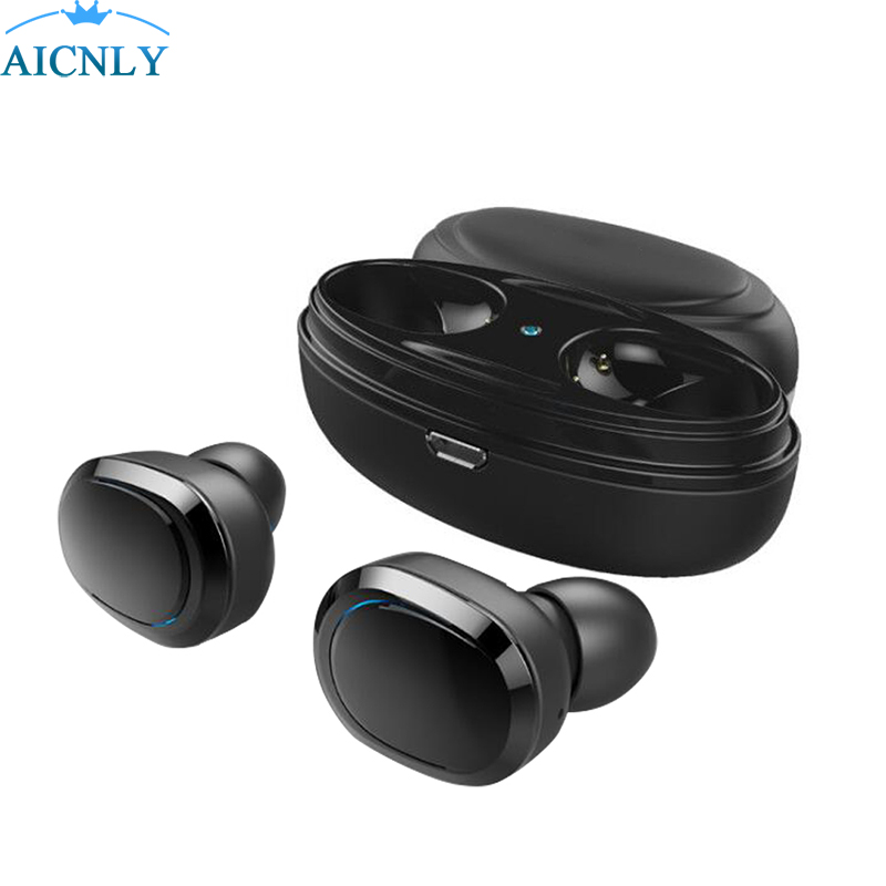 Wireless Fone Bluetooth Earphones With Mic Touch Control Hifi Sport Headset Tws Sound Earbuds For Airpod Phone With Charger Box