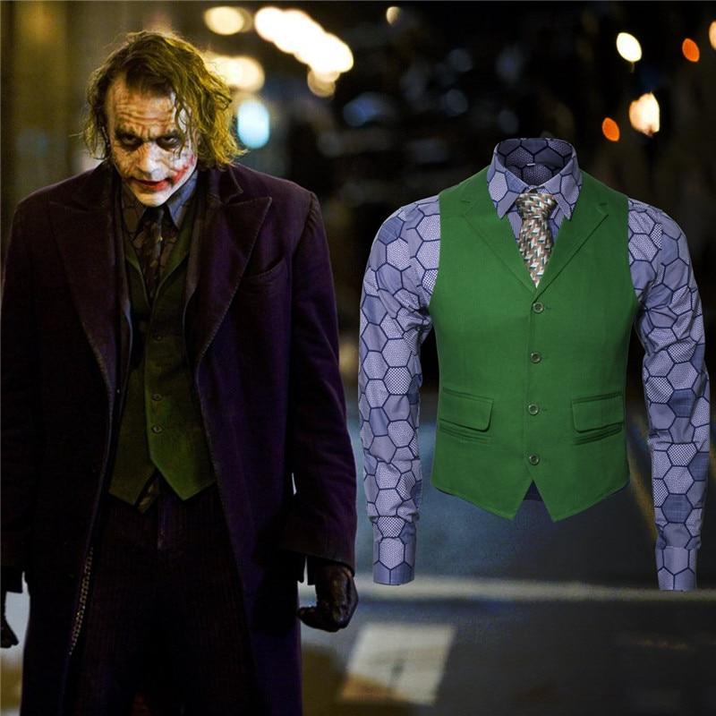 Takerlama nowy Batman mroczny rycerz wzrost Joker Cosplay