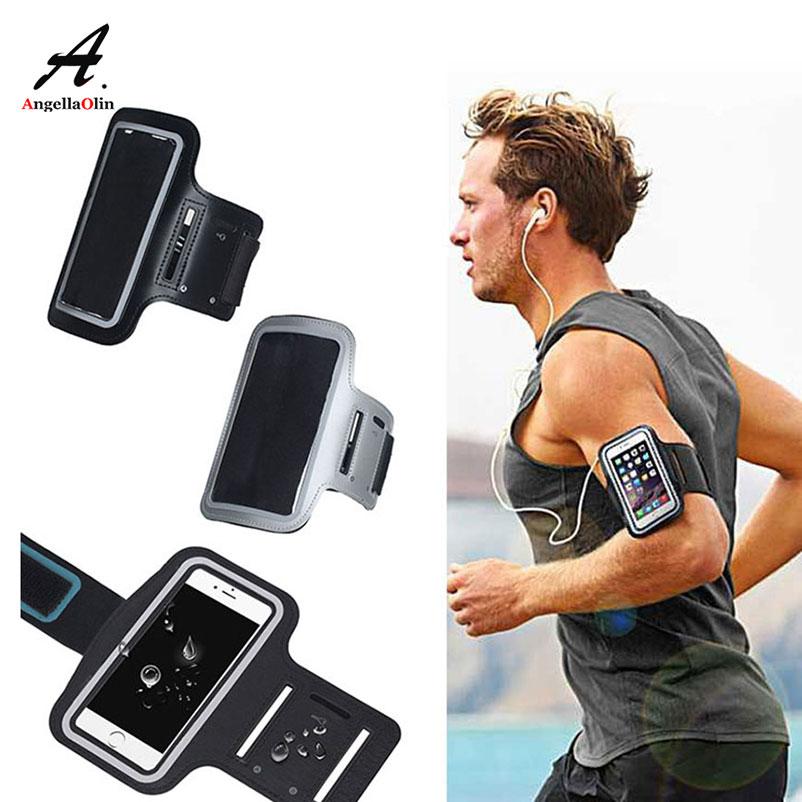 Black Top Armbands Waterproof Gym Sports Run For iPhone Xs Max XR X 10 8 6  6s 5 5s 5c SE 7 plus 4 4s Arm Band Phone Bag Case d02cb82e3722d