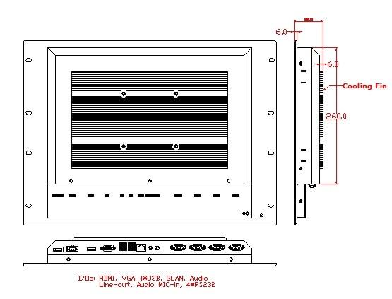 Դարակաշարային արդյունաբերական 17 - Արդյունաբերական համակարգիչներ և աքսեսուարներ - Լուսանկար 3