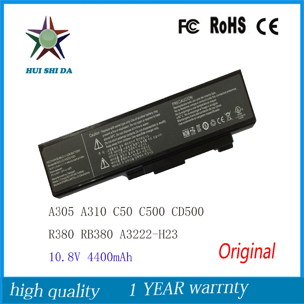 10.8V 47WH New Original Laptop Battery for LG WideBook C50 CD50 C500 A305 A310 R380 RB380 A3222-H23 11 3v 47wh new original laptop battery for lenovo 45n1754 45n1755 45n1756 45n1757 e450 e455 e450c series