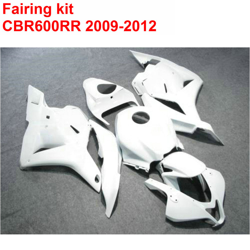 Injection molding Fairing kit for HONDA cbr600rr 2009 2010 2011 2012 CBR 600 RR all white ABS fairings 09 10 11 12 LK16 arashi motorcycle radiator grille protective cover grill guard protector for 2008 2009 2010 2011 honda cbr1000rr cbr 1000 rr