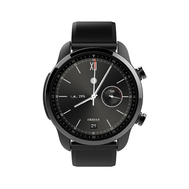 Men's Slick Minimalist Style Android GPS WIFI Bluetooth with Camera Touch Screen Support Smartwatch