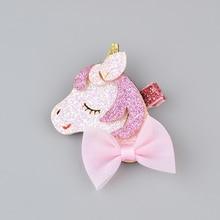 Gilter Unicorn/Star Hair Clips for Girls