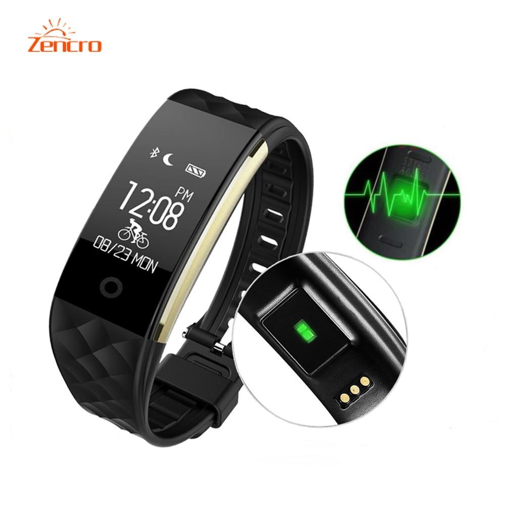 Zencro Factory Price Hearthrate Bluetooth Smart Band