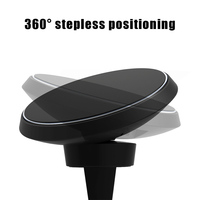 Magnetic QI Wireless Car Charger Mount 360 Rotation Air Vent Car Cradle Charging Holder SGA998