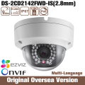 Hik Ip Camera Ds-2cd2142fwd-is 2.8mm 4mp Cmos Roi 1080p English version Waterproof Infrared support upgrade uk RS RJ45