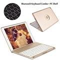 7 Цветов Подсветка Свет Беспроводная Bluetooth Клавиатура Чехол Для iPad Air/воздуха 2 Для ipad 5/ipad 6 Для iPad Pro 9.7 + Подарок