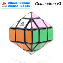 WitEden Octahedron Mixup v3 Magic Cube Pyraminxeds Cubo Magico Professional Neo Speed Puzzle Antistress Fidget Toys For Kid