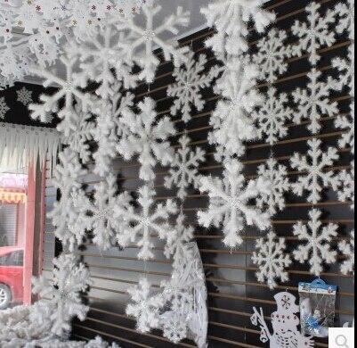 725 5 Unidslote Tridimensional Copos De Nieve Decoración Dia 28 Cm 33 Cm 39 Cm Decoración Navideña Fiesta Vacaciones Diseño Decoración De La