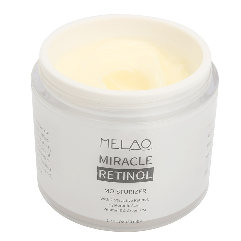 Retinol Moisturizer Face Cream Anti-aging Face Eye Area Vitamin E and Green Tea Hyaluronic Acid Organic Face Whitening Cream