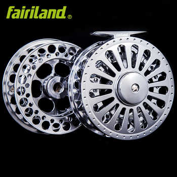 100mm(7/8) Fly reel with spare spool precision machined premier combo from bar-stock aluminum money-saving set - DISCOUNT ITEM  45% OFF Sports & Entertainment