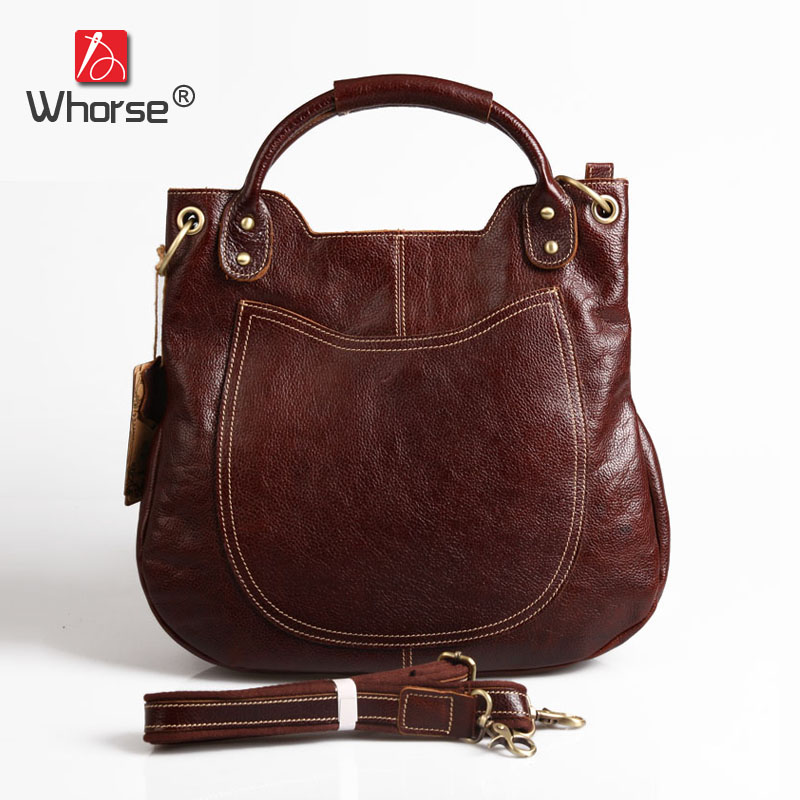 Top Quality Handmade Vintage Casual Bag Genuine Leather Womens Real Cowhide Designer Handbag Messenger Bags For Women W092544 top quality handmade vintage casual bag genuine leather womens real cowhide designer handbag messenger bags for women w092544