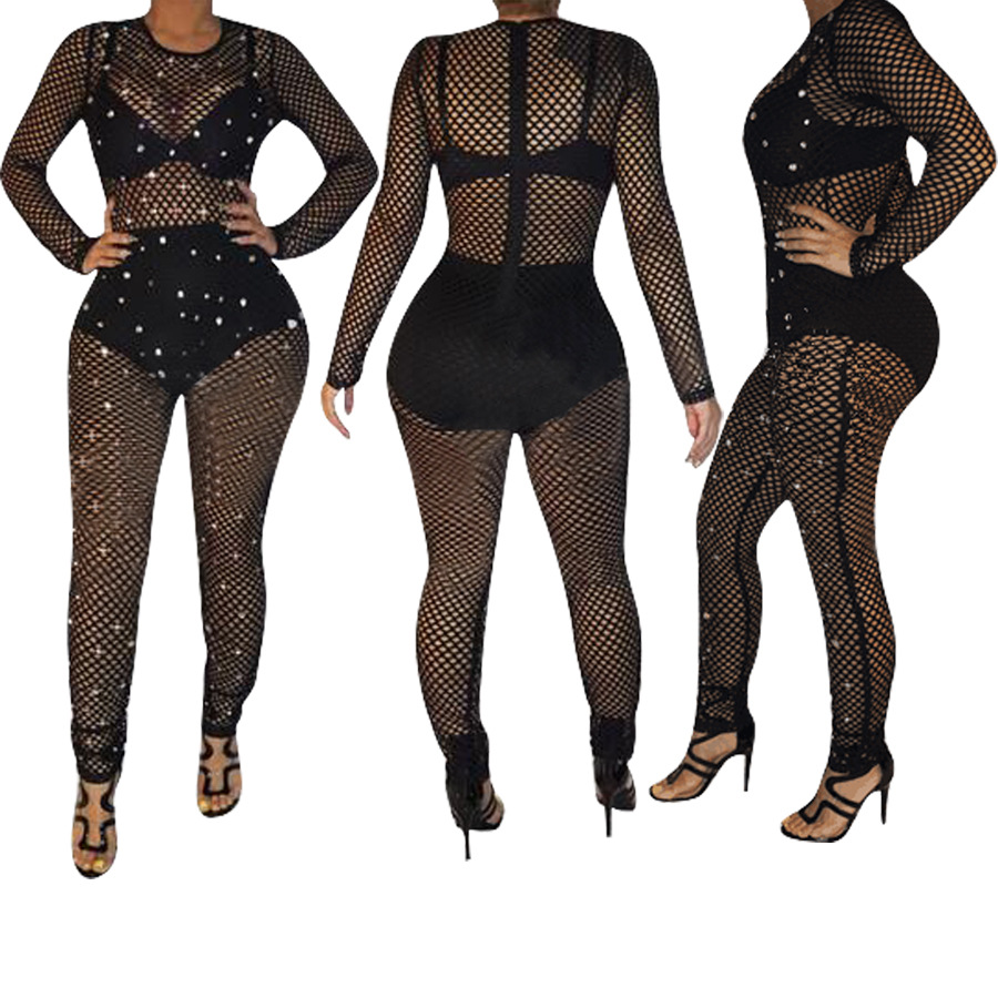 Bodysuit Women Promotion Polyester Skinny Solid Broadcloth Body 2018 New Sexy Style Women Plus Size Jumpsuit S-xl