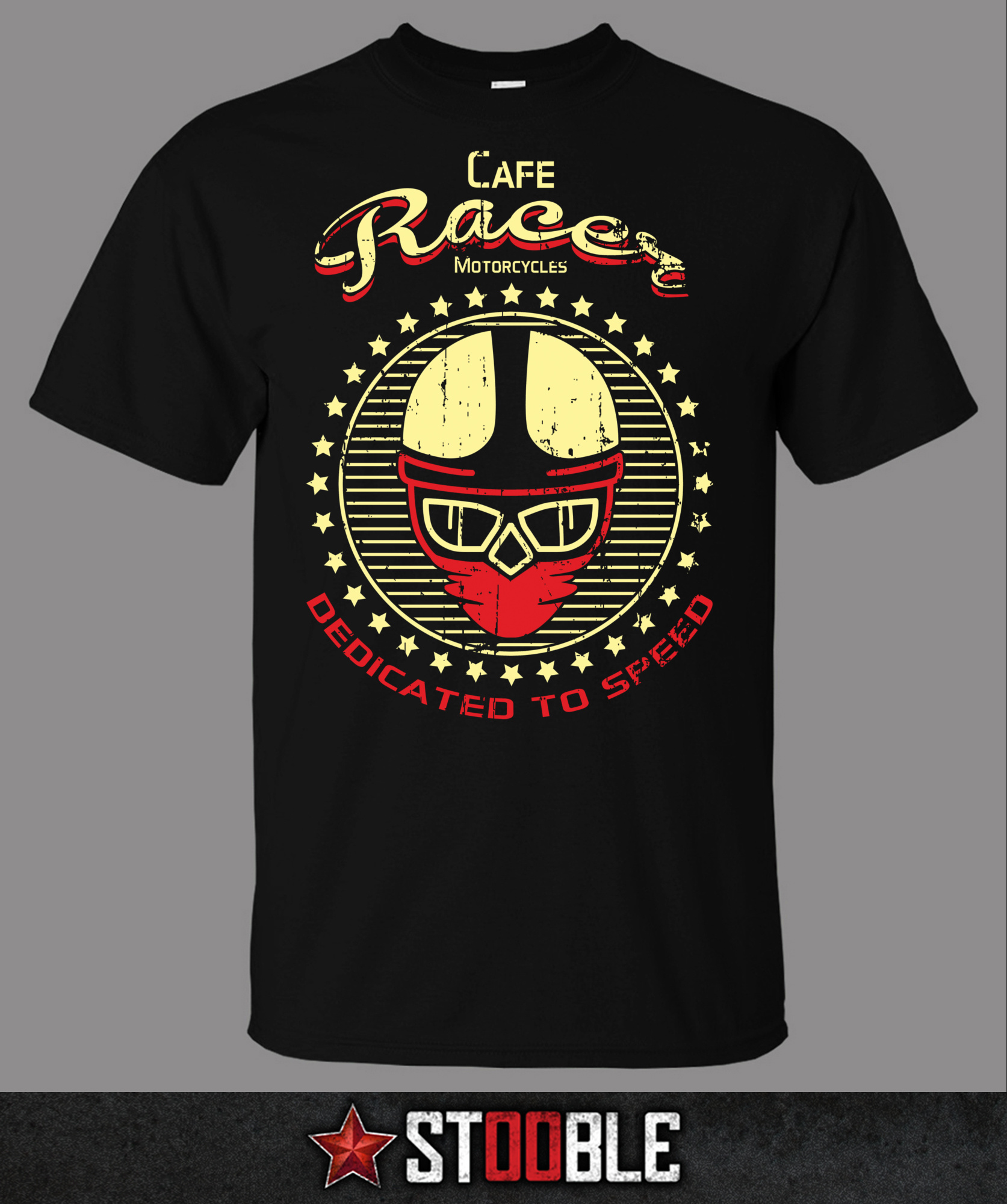 Cafe Racer Dedicated to Speed T-Shirt - Direct from Stockist New T Shirts Funny Tops Tee Unisex Loose Clothes