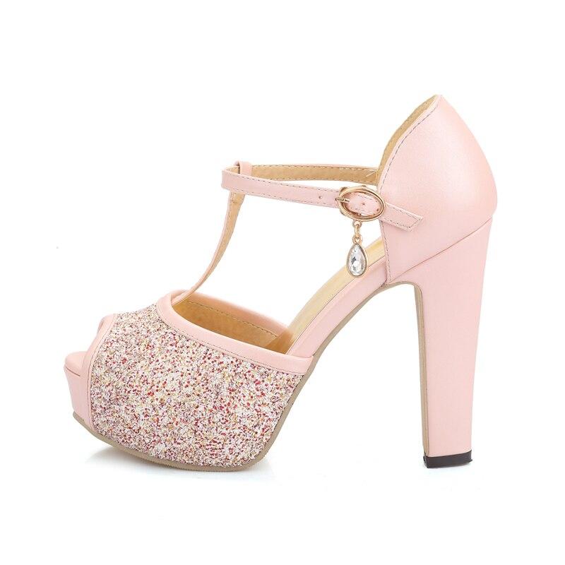 a63c037c Tallas blanco Apricot Boda 32 Plataforma Mujer De Sexis rosado Sandalias Para  Zapatos Alta Altos 43 Verano Calidad Doratasia Tacones Grandes qCx1gE1wH
