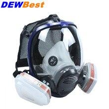 Химическая маска, противогаз, кислота, пыль, респиратор, краска, пестицид, спрей, Силиконовый Фильтр, лабораторный картридж, сварка