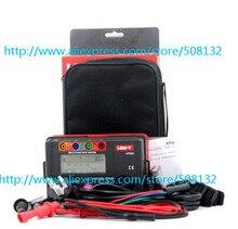 UNI T UT526 UT 526 Elektrik Yalıtım Test Cihazı Toprak Direnci Ölçer + 1000 V + RCD Test + Süreklilik + Vac/ dc (4 in 1)