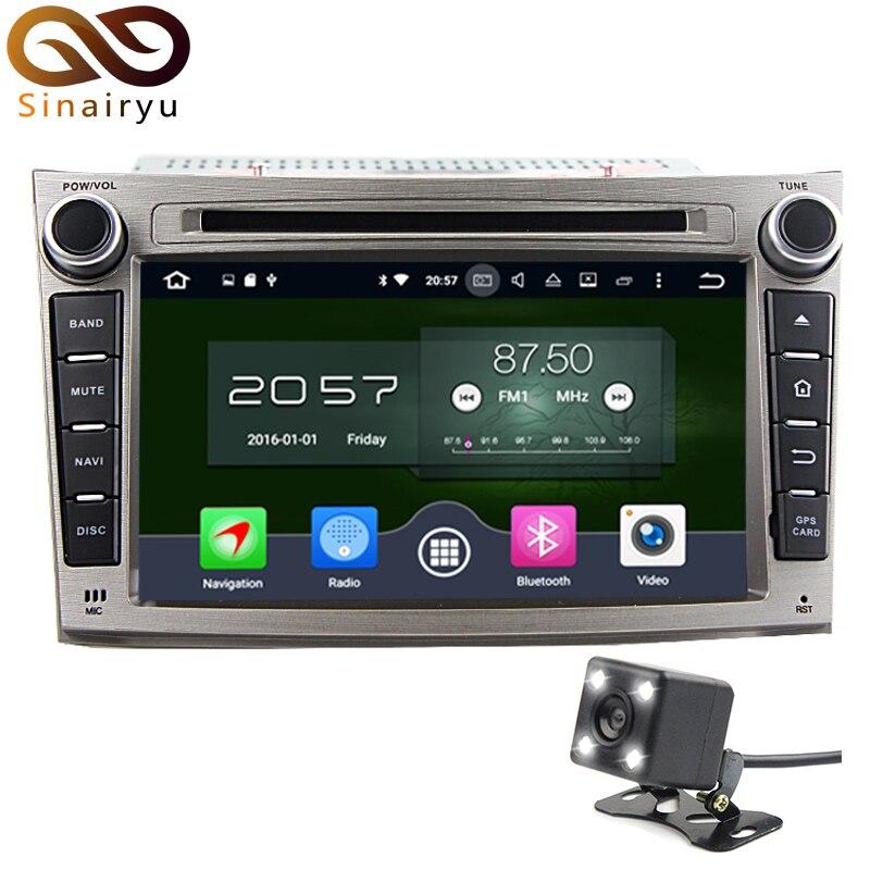 Sinairyu 7 Android 6.0 Автомобильный DVD для Subaru Legacy Outback 2 DIN 8 core рулевое колесо Управление GPS навигации 1080 P видео 4 г + 32 г