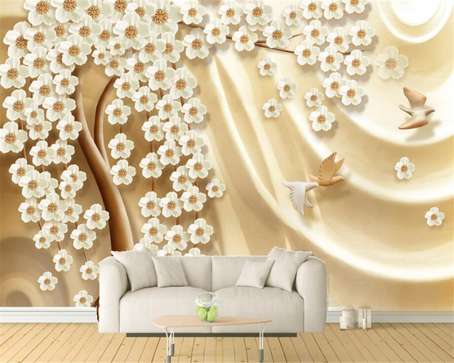 beibehang Fashion Decorative High Quality Indoor Wallpaper Money ...